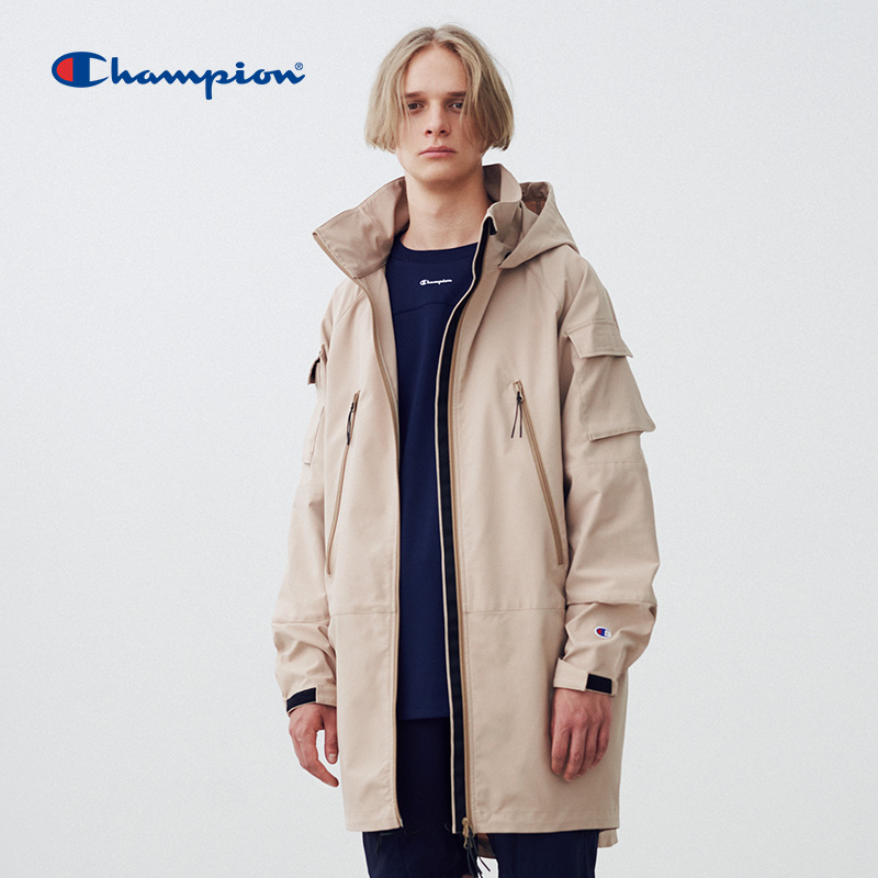 Champion Black Edition capsule series spring new men's zipper jacket