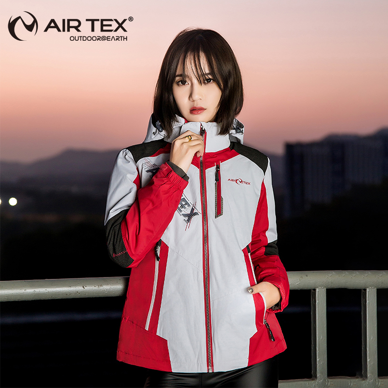 British Yate Outdoor Charge Women Trinity Removable Two-piece Winter Waterproof Coat Hiking Suit