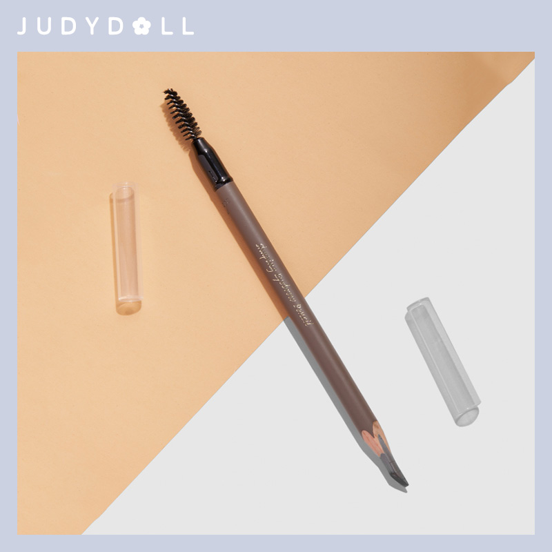 Judydoll orange flower machete eyebrow pencil soft focus foggy plastic waterproof natural lasting non-marking student flagship store