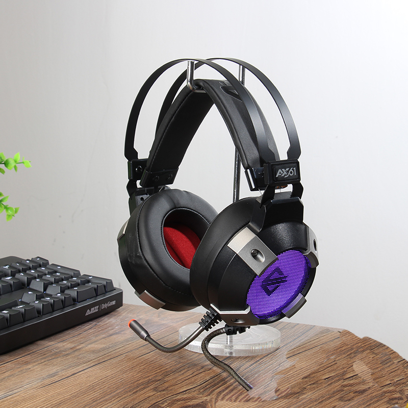 Black Judge X361 Computer Headset Headset with Mccf Jedi Survival Audio Defense Chicken Game Headphones