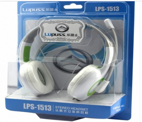 LPS-1513 Colour Headset Computer Audio Headphone Game Audio Headphone Earphones