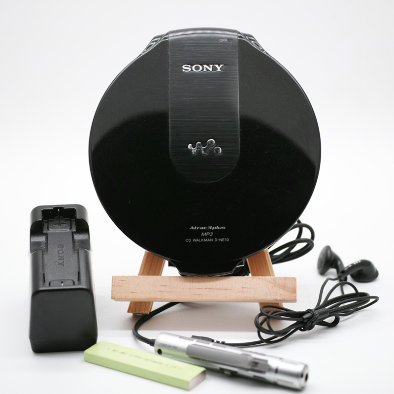 [Secondhand products]Japan Original Sony CD Player D-NE10 Portable CD Walkman Support MP3 NE20 NE900
