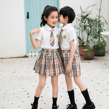 School Uniform suit for primary and middle school students in summer