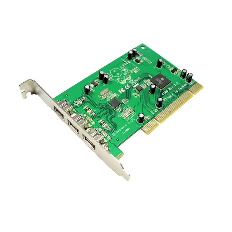 Music expansion 1394 capture card PCI to 1394B external DV video capture Support FireWire sound card Free drive