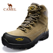 Selling 130 thousand double camel high outdoor hiking shoes help men and women on foot toe leather waterproof outdoor shoes
