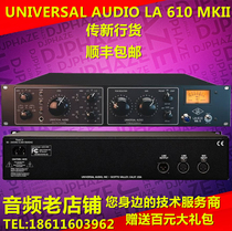 New delivery UNIVERSAL AUDIO LA 610 MKII microphone amplifier spot package UA 610