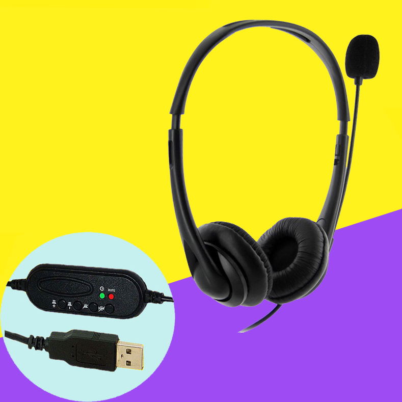 Headset stereo headset computer headset USB computer headset headset headset headset microphone export