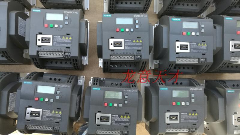 [Secondhand products]Three-phase 380V Siemens V20 5.5KW frequency converter 6SL3210-5BE25-5UV0