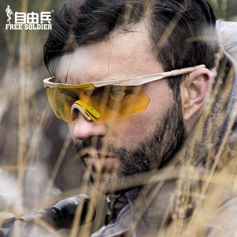 Free outdoor eagle eye tactical goggles spring and summer men's sunglasses riding sunglasses bulletproof glasses