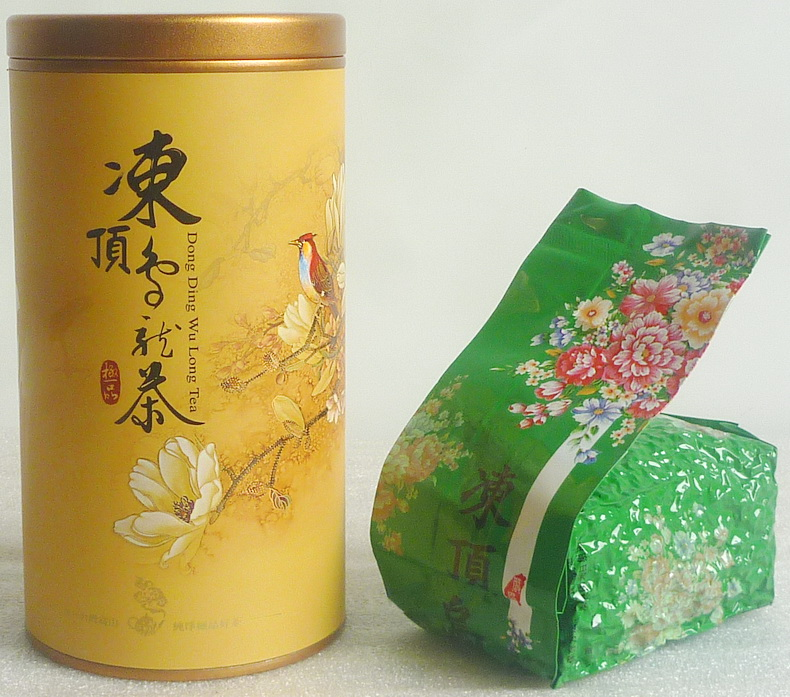 Wuliangye Taiwan Premium Frozen Top Oolong Tea Authentic Taiwan Lotus Valley Highend Tea Send Box