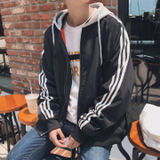 2017 spring and autumn trend of Korean men's coats loose clothes NEW Baseball Jacket slim handsome students