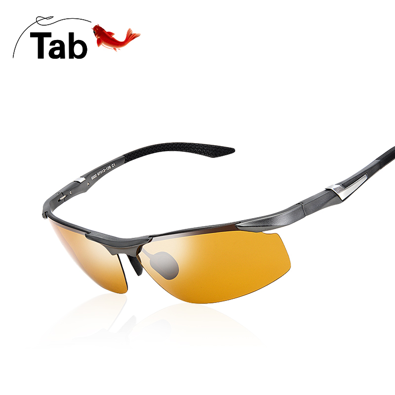 Tab Outdoor Sunglasses Fishing Look at Drifting Glasses High Definition Polarization Refinement Fishing Male Driver Driving Night Vision Glasses
