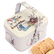 TC Cranberry cookies portable rabbit iron gift manual zero leisure food of children 80g girlfriend gifts