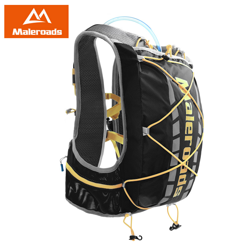 Wallace Ultra Light Close to the Body Outdoor Running Backpack Male and Female Off-road Running Equipped with Marathon Water Bag Riding Backpack