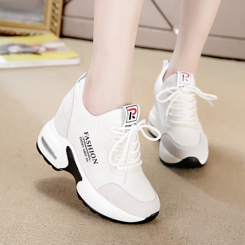 Korean version Baitabo women's wear autumn shoes, leisure white sneakers, far sports women's shoes in autumn