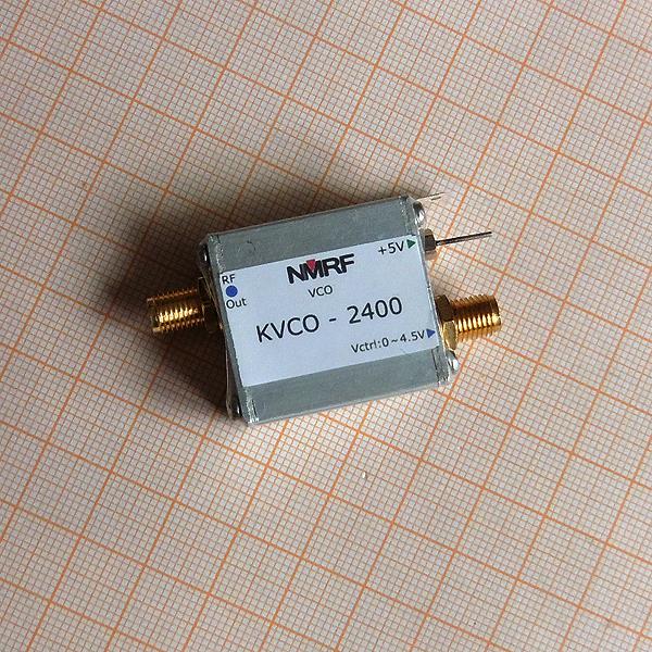 2.4G RF microwave pressure-controlled oscillator VCO sweep signal source signal generator