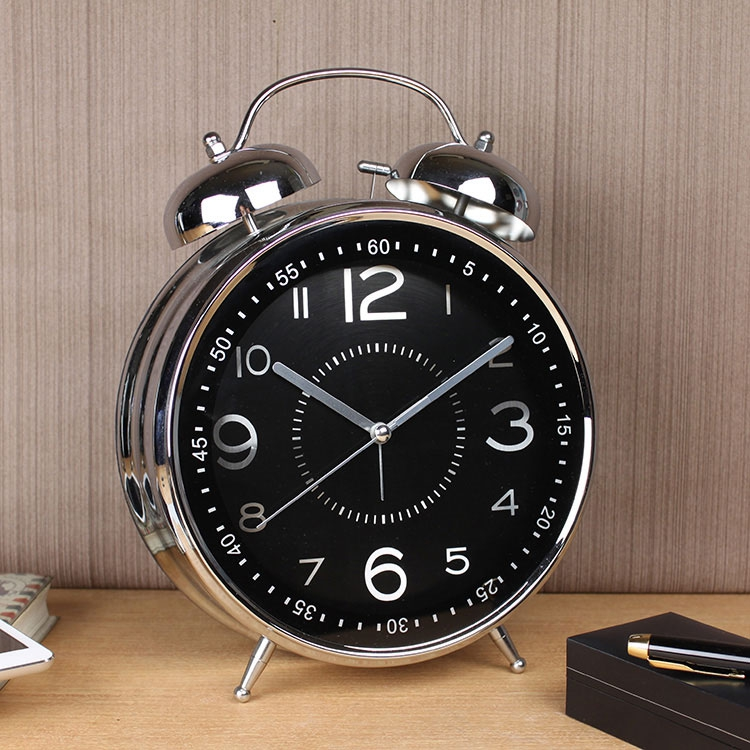 Big bell ringing big bell living room playing nostalgic creative machinery retro home alarm clocks 84 metal inch clock seat clocks