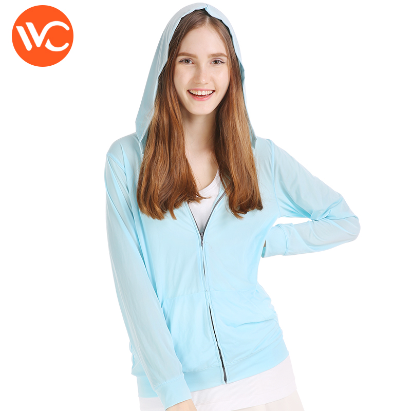 South Korea VVC authentic sun protection clothing female long section 2018 summer sun protection clothing student Korean version bf loose jacket tide