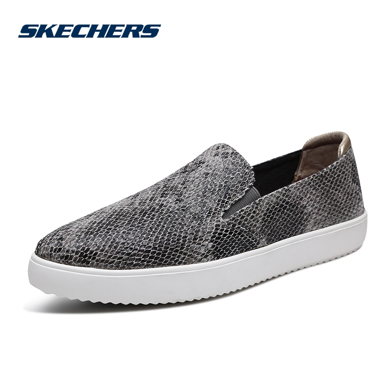 Skechers Skechers shoes new fashion snake pattern one foot cover fashion single shoes casual shoes 68785