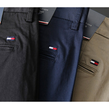 American Tommy Hilfiger summer men's business casual pants