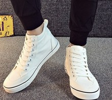 High-top men's canvas shoes student wild casual shoes canvas shoes