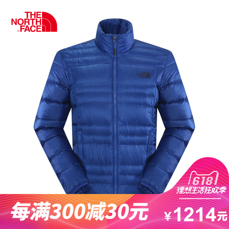 The NORTH FACE/North Men's Outdoor Sports Can Pack 800 Warm Standing Collar Down Clothes CKZ2