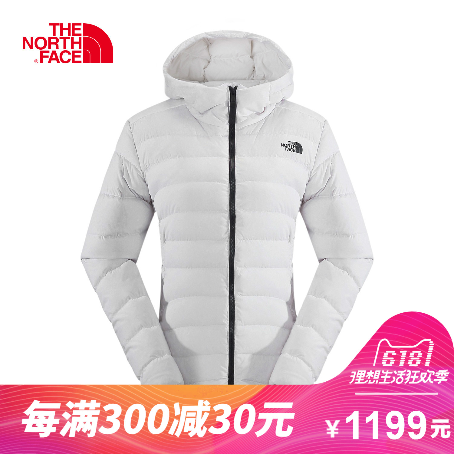 THE NORTH FACE/North Women's Outdoor 550 Padded Warm Hooded Jacket Down Jacket A2UDS