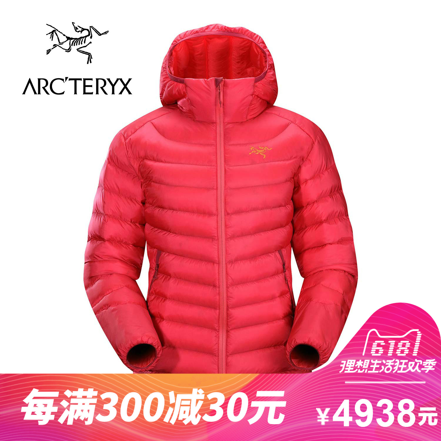 ARCTERYX / Archaeopteryx Women's lightweight warm hooded down jacket Cerium LT Hoody 13238