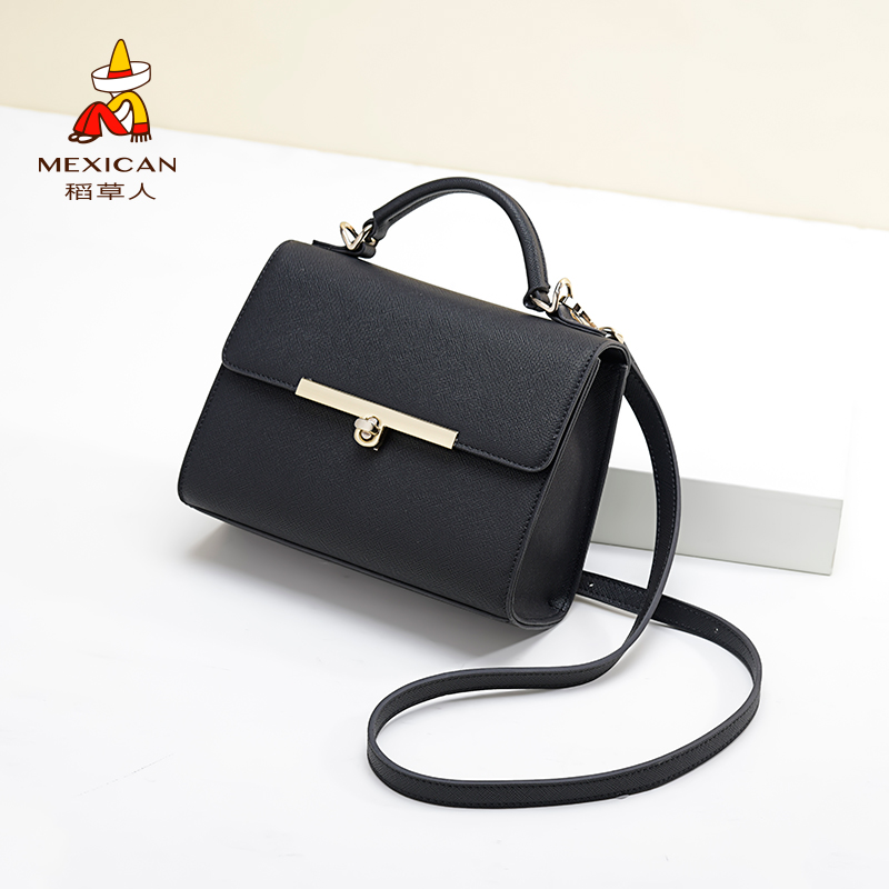 Scarecrow bag 2018 new wave female bag Korean fashion wild portable Messenger bag simple shoulder small square bag