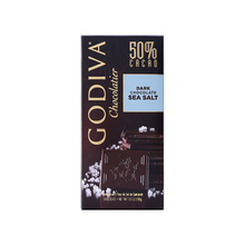 GODIVA歌帝梵50%可可海盐黑巧克力制品片