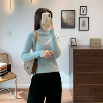 Clearance seconds heavier than before 40g value cattle goods High-end Tsuen Cashmere island fine seamless one-piece womens cashmere sweater