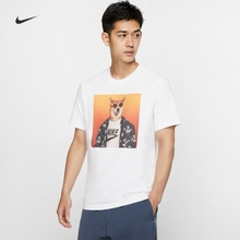 Nike Nike official NIKE SPORTSWEAR men's T-shirt CW4307