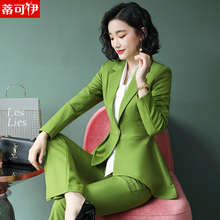 Women's Suits New Fashion Professional Clothes in Autumn 2019 The Host of Ladies'Temperament is Decorating Her Workwear