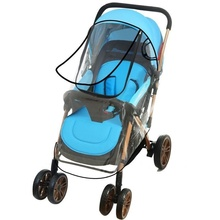Baby out artifact windproof rain cover trolley universal