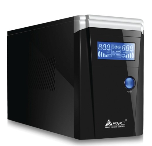 UPS Uninterruptible Power Supply SVC SL-600 600 VA/360W Standby Power Supply with Delay of 2 Hours