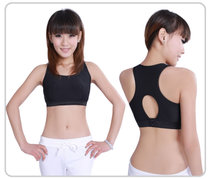 High-end non-steel ring vest-sporting fake breast bra breast bra yoga wear workout clothes