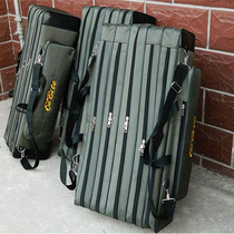 Special fishing gear package 90cm/1.2/1.3m, 345-layer fishing bag, sea pole and fishing rod package