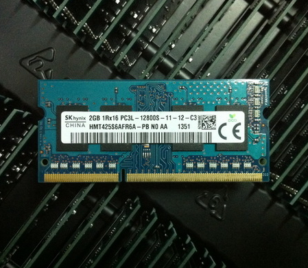 Modern SK Hynix 2G DDR3L 1600 PC3L-12800S notebook memory bar low voltage version