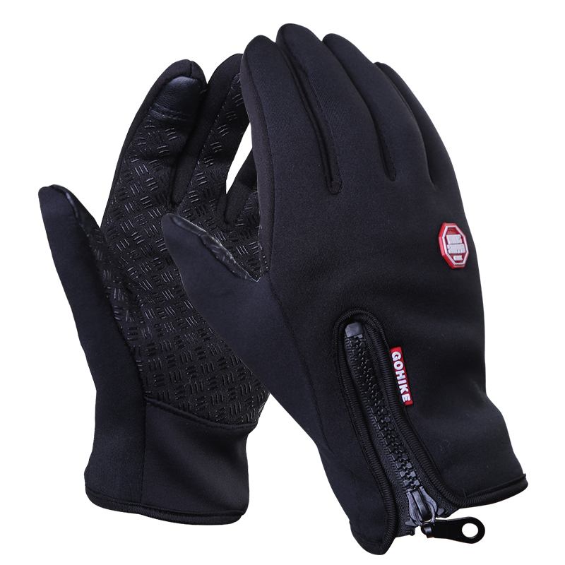 Outdoor Thermal Gloves Running Men's Sports Cycling All refers to winter mountain climbing, windproof skiing, waterproof women fishing and fleecing