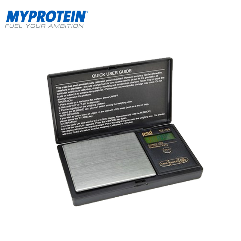 [The goods stop production and no stock]Myprotein Precise Electronic Scale Accurately Measure Powder Accurately Intake Daily Dose UK Direct Mail
