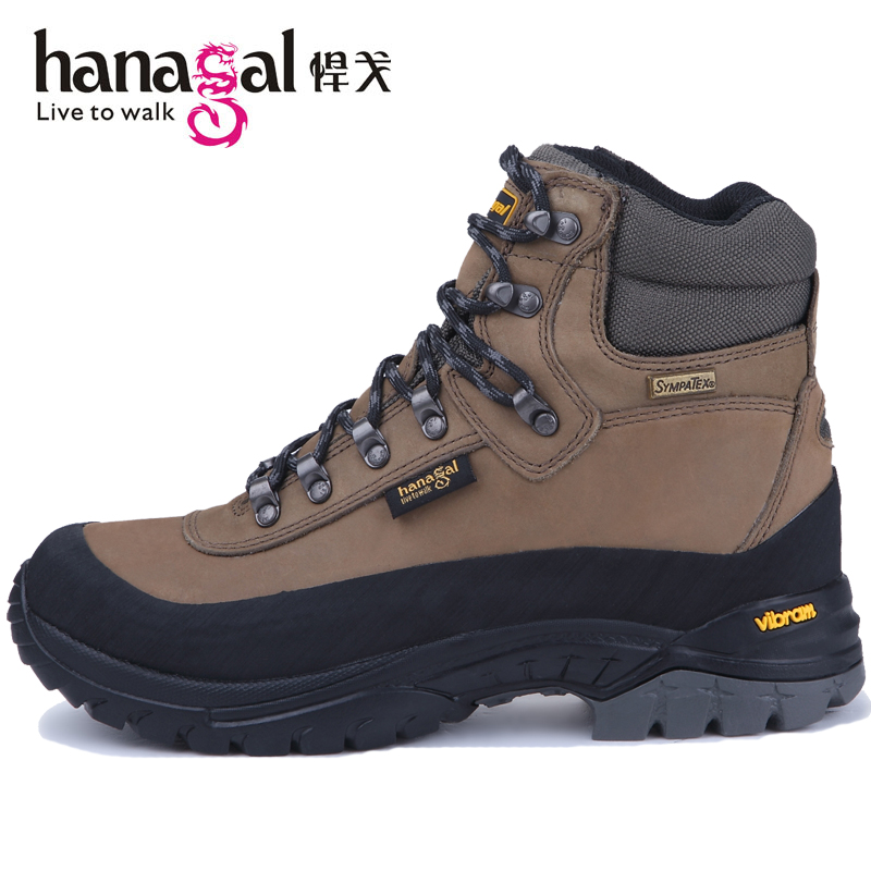 Gege wear-resistant high-top hiking shoes men's waterproof shoes women's hiking shoes couple models non-slip breathable outdoor shoes men's shoes