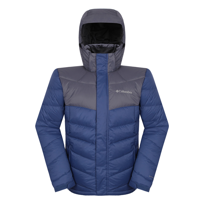 Colombia Outdoor Men's Clothing 700 Bengal Thick Wind-proof, Waterproof, Heat-reflective and Warm Down Clothing PM5403