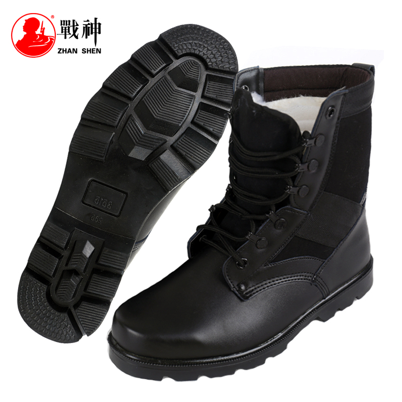 Ares autumn and winter climbing boots outdoor men's security training shoes 07 combat boots men's explosion-proof boots
