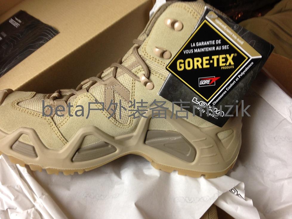 Lowa Zephyr Desert GTX Mid TF Military Edition help waterproof walking shoes in stock