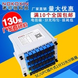 New 1 to 32 plug-in splitter 1 minute 32 plug-in SC port optical splitter carrier grade high quality GPON