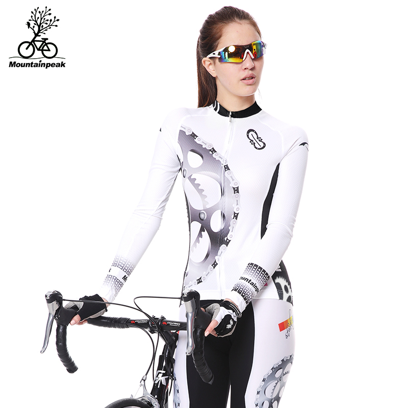 MTP Spring and Autumn Jersey Long Sleeve Set for Men and Women Summer Cycling Pants Bicycle Suit Mountain Bike Equipment