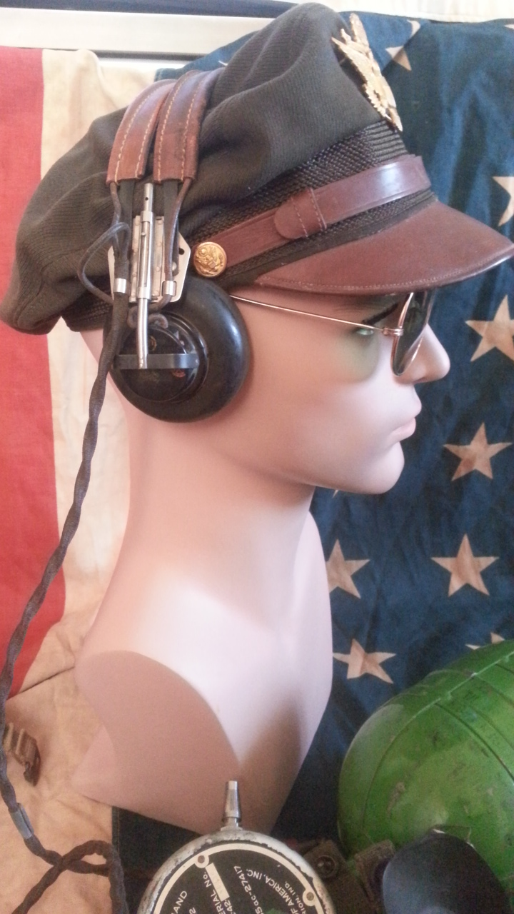 [Secondhand products]WWII American Army version of the original Army Aviation \ Navy \ Marine pilot \ with ANB-H1 headphones P40P51