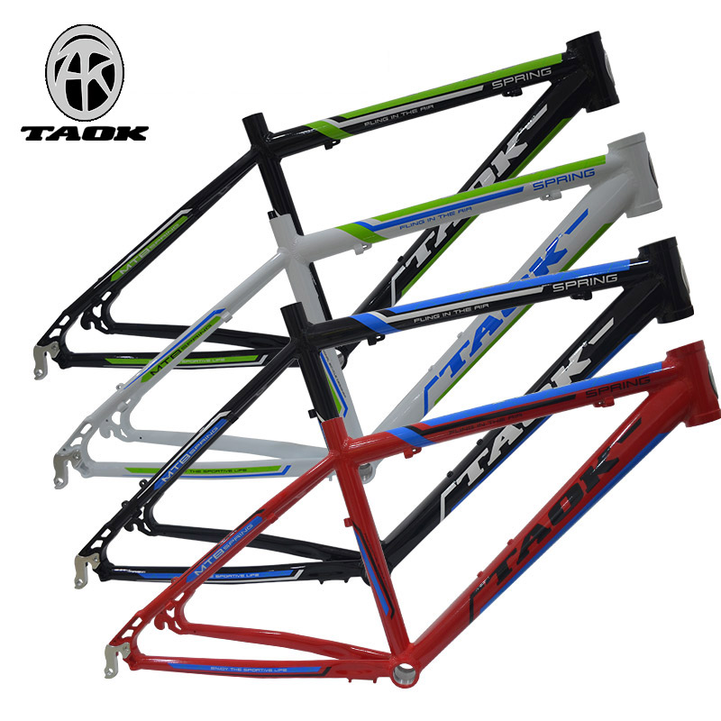 TAOK top mountain bike frame 24 inch disc brake special aluminum alloy seamless tube bicycle frame tripod