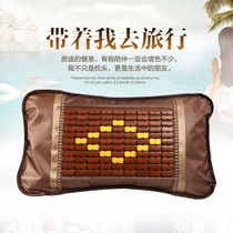 Bamboo pillow cool Mahjong mat liangzhen summer students in the summer adult single children tea bamboo pillow