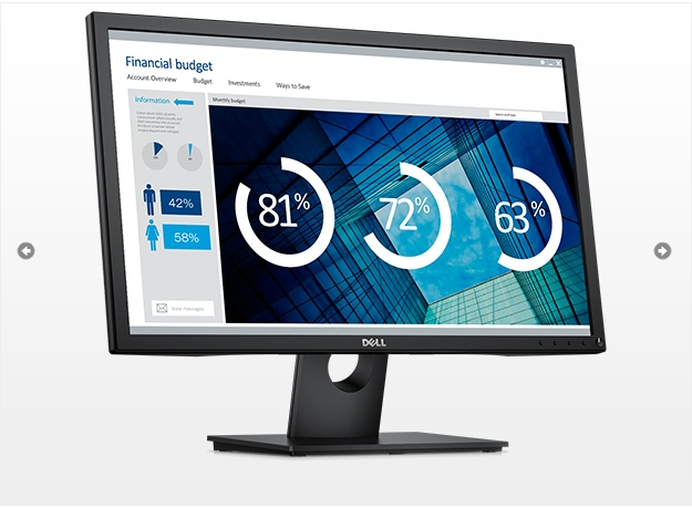 Dell/Dell E2417H E2418HN 23.8-inch LED Ultra-high Definition Wide Screen Display National Guarantee